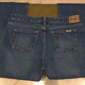 LEVI STRAUSS stretch low rise bootcut 12 short